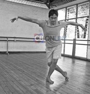 Roberto Zamorano y sus pasos en el ballet