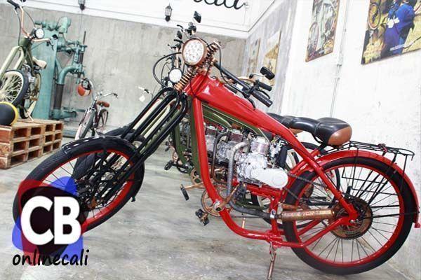 Bobber, bicicletas motorizadas como solución de transporte
