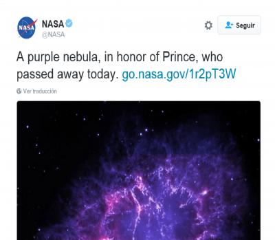 Prince: lágrimas púrpura por su partida