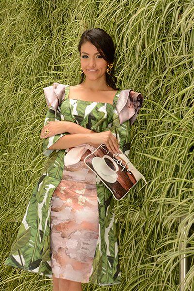 Moda inspirada en plantaciones