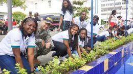 Campaña Buenaventura siembra esperanza limpia y bonita
