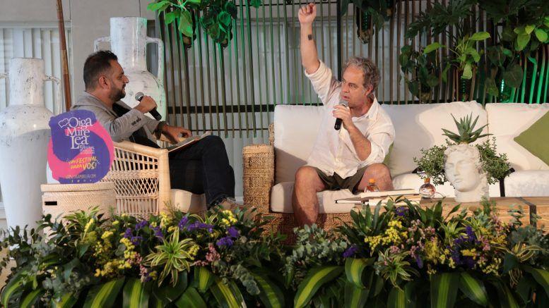 """Juan Forn confiesa: """"Creo que estoy hecho de papel"""""""