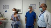 Sena construye cabina de protección para personal medico