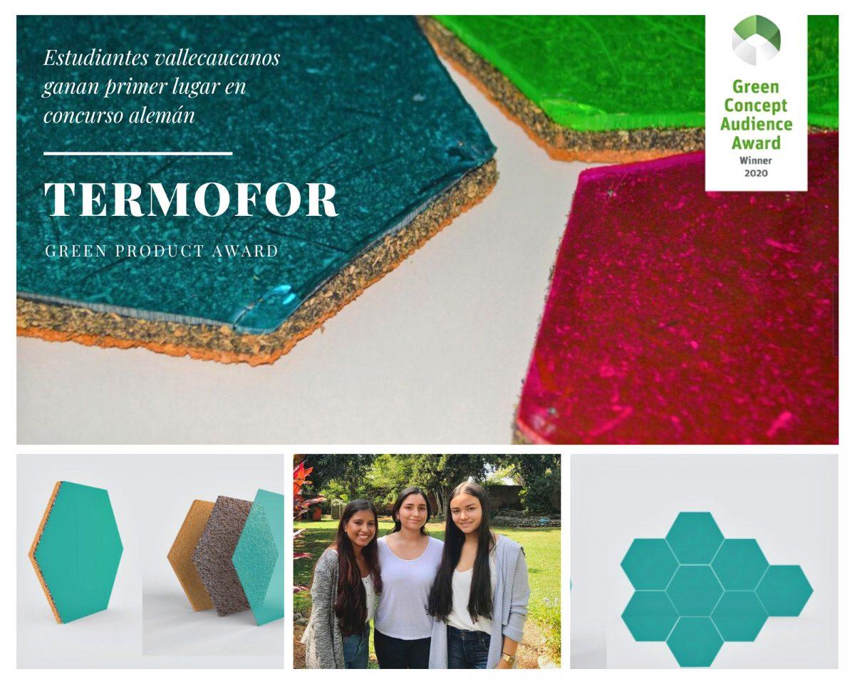 Estudiantes de Icesi ganan premio en diseño sostenible