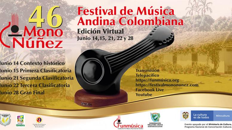 Conéctate con la música Andina en el Festival Mono Núñez