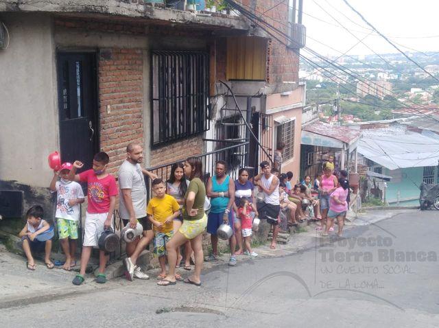 Olla comunitaria, un cuento social en la Comuna 20